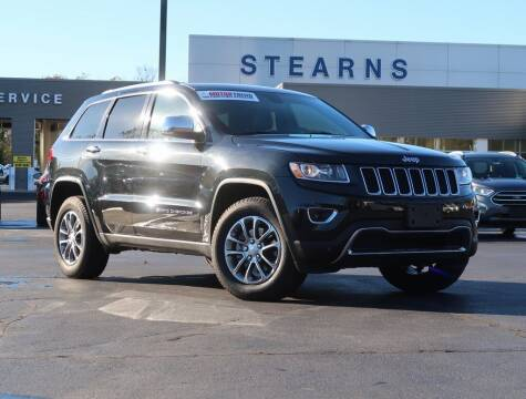 2016 Jeep Grand Cherokee for sale at Stearns Ford in Burlington NC