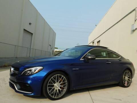 2017 Mercedes-Benz C-Class for sale at Conti Auto Sales Inc in Burlingame CA