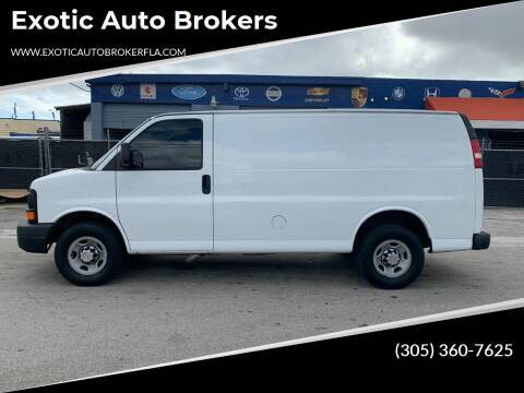 2014 Chevrolet Express Cargo for sale at Exotic Auto Brokers in Miami FL