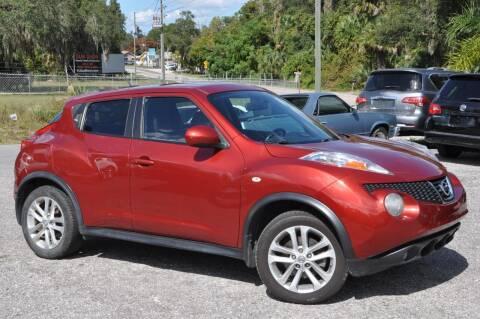 2013 Nissan JUKE for sale at Elite Motorcar, LLC in Deland FL