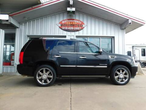 2010 Cadillac Escalade for sale at Motorsports Unlimited in McAlester OK