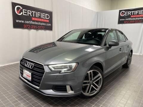 2018 Audi A3 for sale at CERTIFIED AUTOPLEX INC in Dallas TX