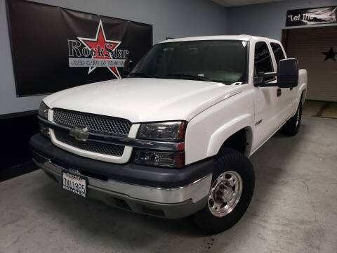 2004 Chevrolet Silverado 2500 for sale at ROCKSTAR USED CARS OF TEMECULA in Temecula CA