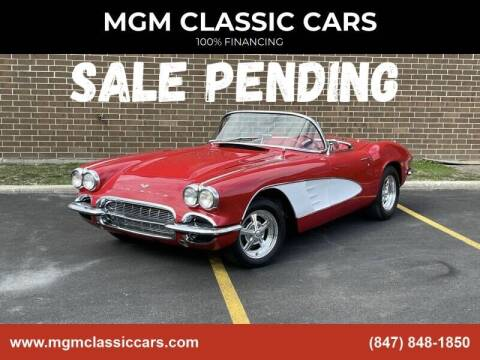 1961 Chevrolet Corvette for sale at MGM CLASSIC CARS in Addison, IL