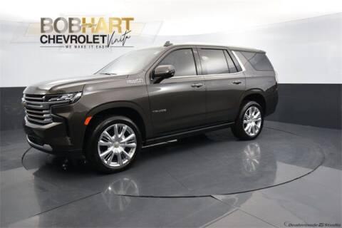 2021 Chevrolet Tahoe for sale at BOB HART CHEVROLET in Vinita OK