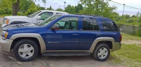 2002 Chevrolet TrailBlazer for sale at Superior Motors in Mount Morris MI
