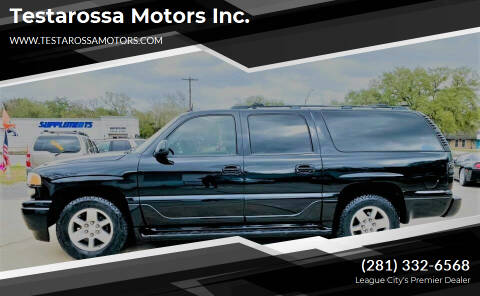 2005 GMC Yukon XL for sale at Testarossa Motors Inc. in League City TX