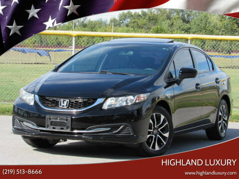 2014 Honda Civic for sale at Highland Luxury in Highland IN