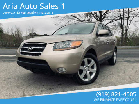 2007 Hyundai Santa Fe for sale at ARIA  AUTO  SALES in Raleigh NC