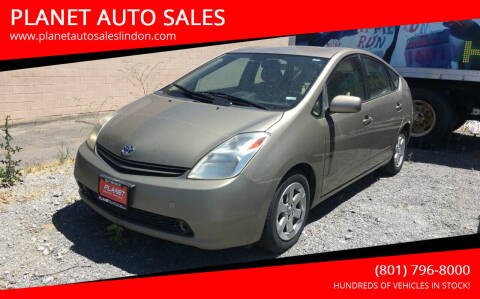2004 Toyota Prius for sale at PLANET AUTO SALES in Lindon UT