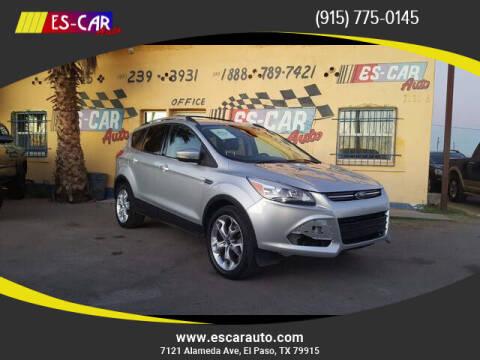 2013 Ford Escape for sale at Escar Auto in El Paso TX