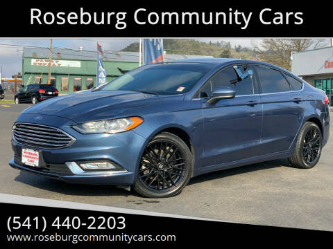 2018 Ford Fusion for sale at Roseburg Community Cars in Roseburg OR