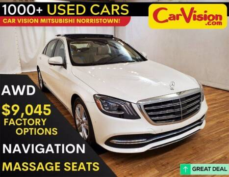 2018 Mercedes-Benz S-Class for sale at Car Vision Buying Center in Norristown PA