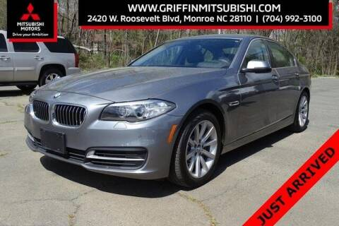 2014 BMW 5 Series for sale at Griffin Mitsubishi in Monroe NC