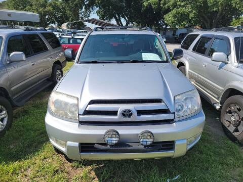 2004 Toyota 4Runner for sale at Wally's Cars ,LLC. in Morehead City NC