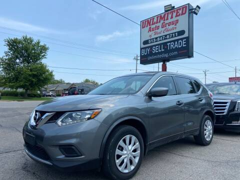 2016 Nissan Rogue for sale at Unlimited Auto Group in West Chester OH