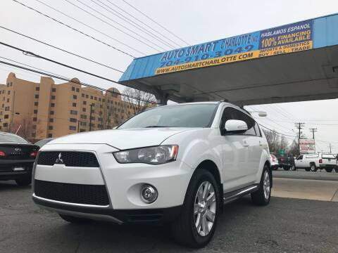 2012 Mitsubishi Outlander for sale at Auto Smart Charlotte in Charlotte NC