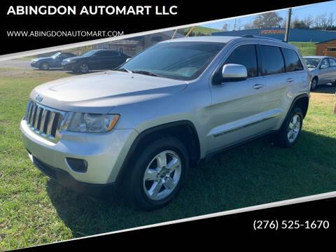 2012 Jeep Grand Cherokee for sale at ABINGDON AUTOMART LLC in Abingdon VA