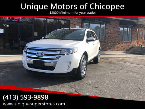 2014 Ford Edge for sale at Unique Motors of Chicopee in Chicopee MA