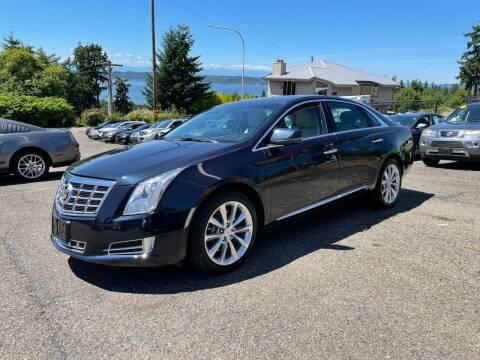 2013 Cadillac XTS for sale at KARMA AUTO SALES in Federal Way WA