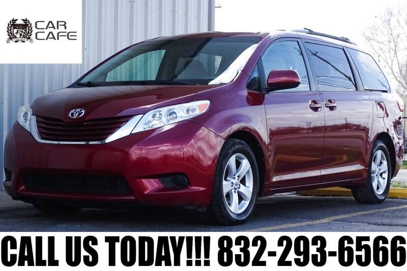 2015 Toyota Sienna for sale at CAR CAFE LLC in Houston TX