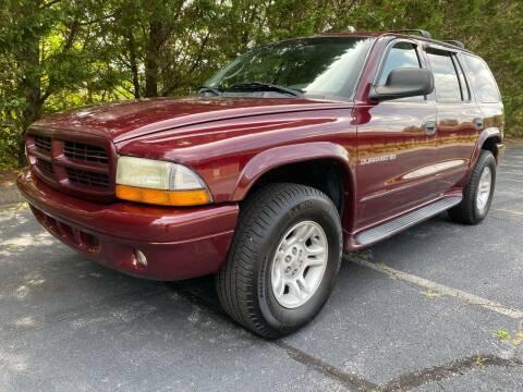 2001 Dodge Durango for sale at Lenoir Auto in Lenoir NC