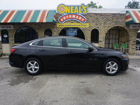 2017 Chevrolet Malibu for sale at Oneal's Automart LLC in Slidell LA