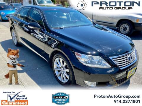 2011 Lexus LS 460 for sale at Proton Auto Group in Yonkers NY
