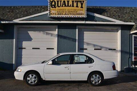 1998 Nissan Altima for sale at Quality Pre-Owned Automotive in Cuba MO