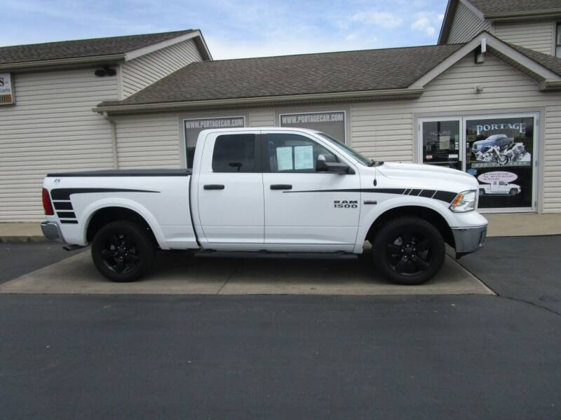 2016 RAM Ram Pickup 1500 for sale at Portage Car & Truck Sales Inc. in Akron OH