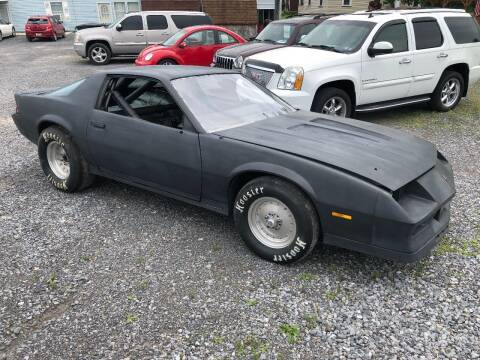 1984 Chevrolet Camaro for sale at DOUG'S USED CARS in East Freedom PA
