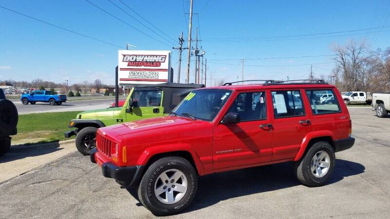 2000 Jeep Cherokee for sale at Downing Auto Sales in Des Moines IA