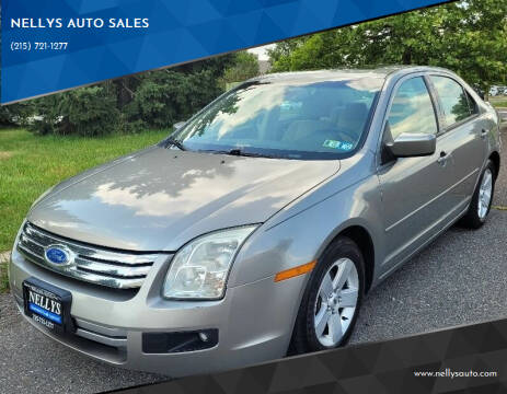 2008 Ford Fusion for sale at NELLYS AUTO SALES in Souderton PA