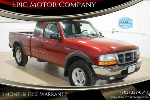 1999 Ford Ranger for sale at Epic Motor Company in Chantilly VA