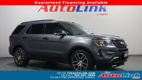 2017 Ford Explorer for sale at The Auto Link Inc. in Bartonville IL