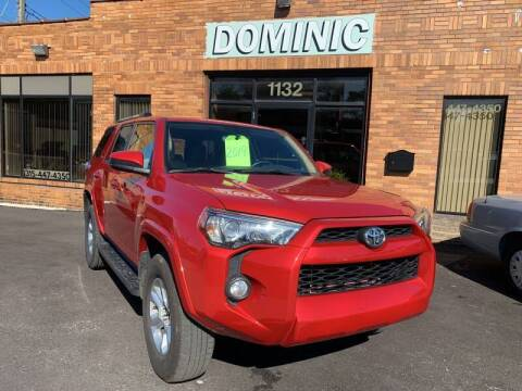 2019 Toyota 4Runner for sale at Dominic Sales LTD in Syracuse NY