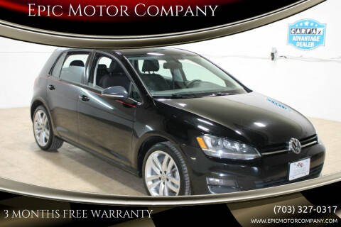 2015 Volkswagen Golf for sale at Epic Motor Company in Chantilly VA