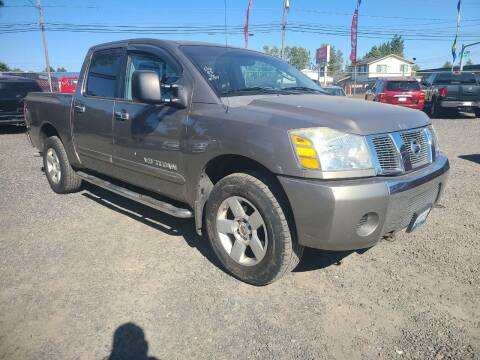 2006 Nissan Titan for sale at Universal Auto Sales in Salem OR