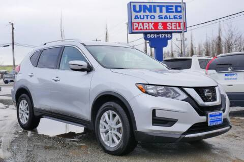 2018 Nissan Rogue for sale at United Auto Sales in Anchorage AK