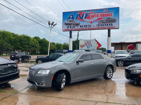 2019 Chrysler 300 for sale at ANF AUTO FINANCE in Houston TX
