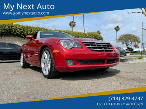 2005 Chrysler Crossfire for sale at My Next Auto in Anaheim CA