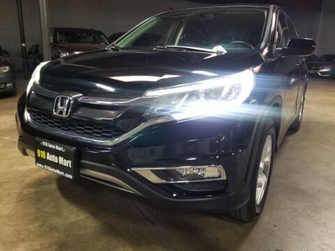 2015 Honda CR-V for sale at 916 Auto Mart ONLY $399 DOWN!!!* in Sacramento CA