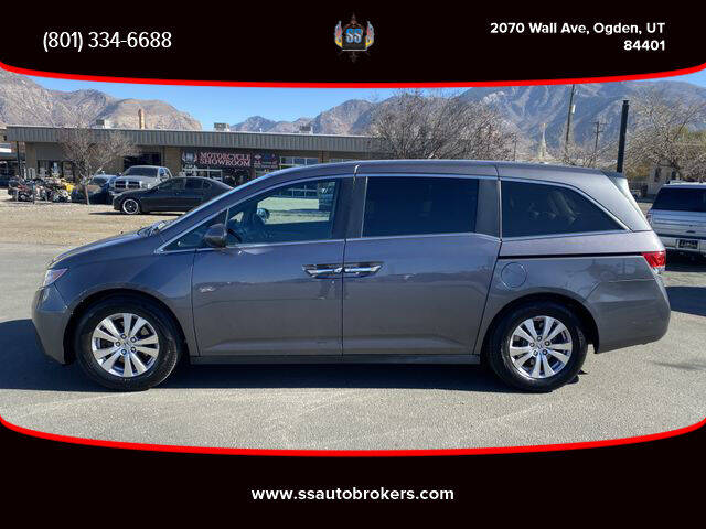 2015 Honda Odyssey for sale at S S Auto Brokers in Ogden UT