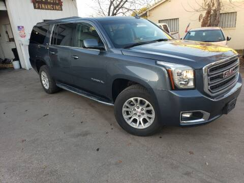 2019 GMC Yukon XL for sale at DFW AUTO FINANCING LLC in Dallas TX