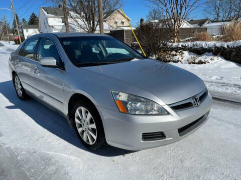 2007 Honda Accord for sale at Via Roma Auto Sales in Columbus OH