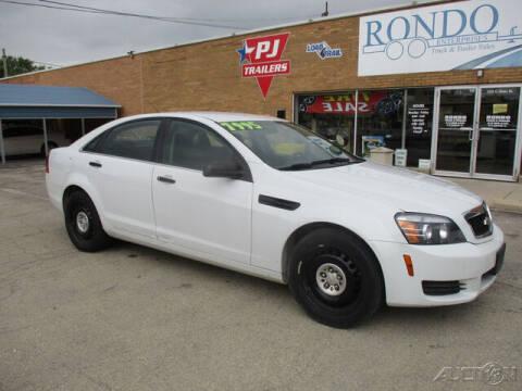2014 Chevrolet Caprice for sale at Rondo Truck & Trailer in Sycamore IL