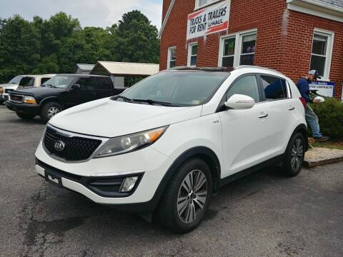 2015 Kia Sportage for sale at Regional Auto Sales in Madison Heights VA