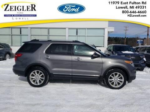 2013 Ford Explorer for sale at Zeigler Ford of Plainwell- Jeff Bishop in Plainwell MI