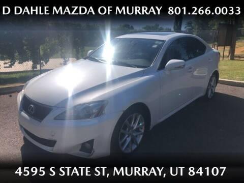 2012 Lexus IS 250 for sale at D DAHLE MAZDA OF MURRAY in Salt Lake City UT