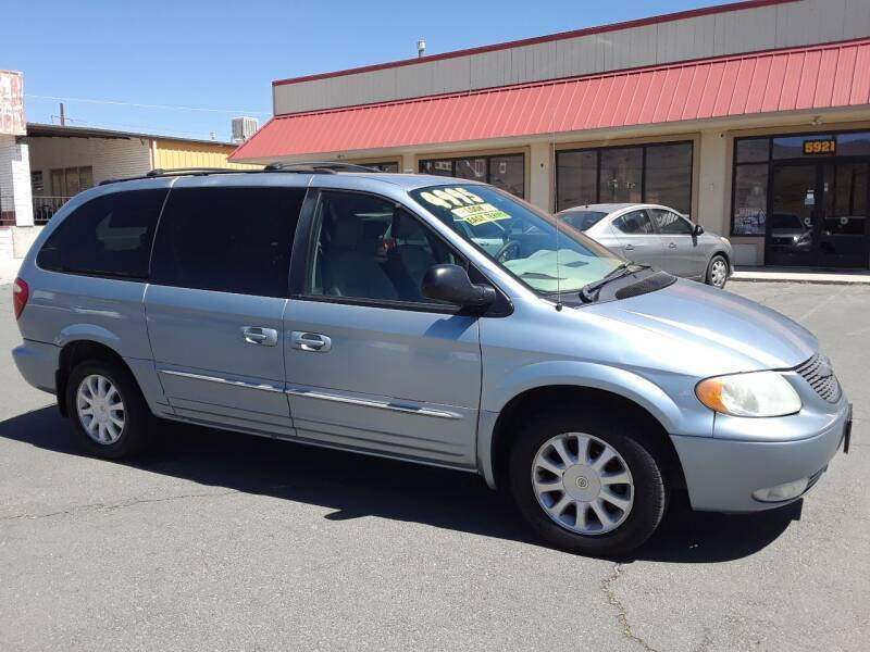 2003 Chrysler Town and Country LXi 4dr Extended Mini-Van - Carson City NV